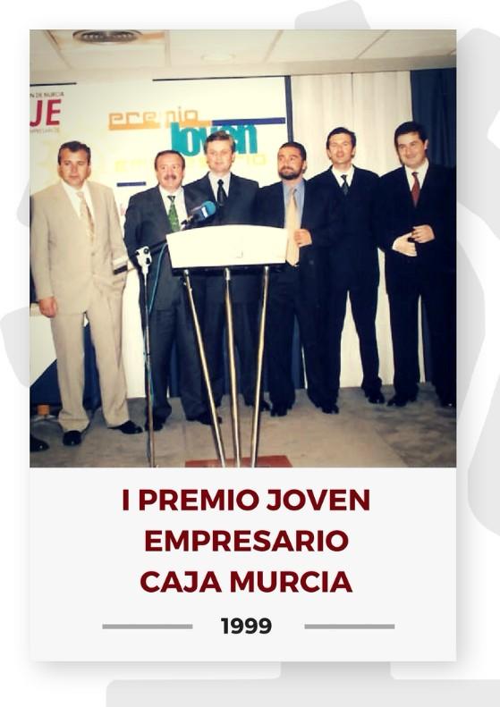 I PREMIO JOVEN EMPRESARIO CAJA MURCIA 2