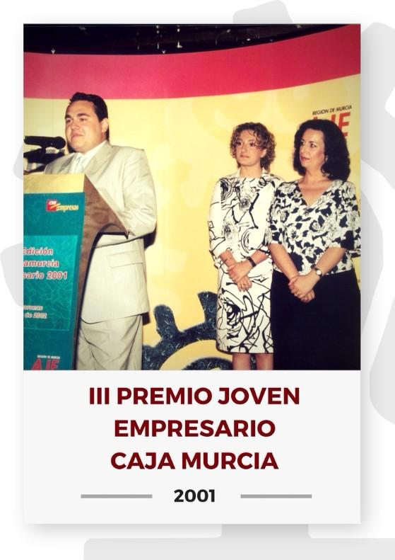 III PREMIO JOVEN EMPRESARIO CAJA MURCIA 2