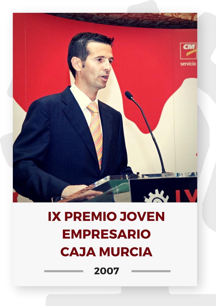 IX PREMIO JOVEN EMPRESARIO CAJA MURCIA 0