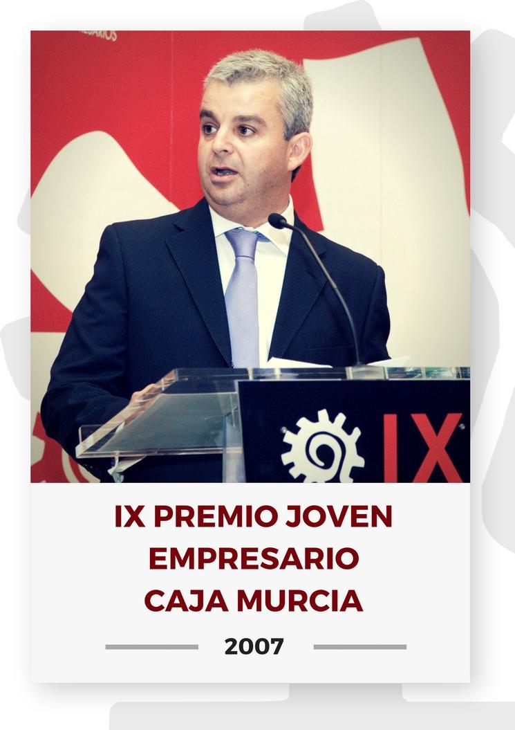 IX PREMIO JOVEN EMPRESARIO CAJA MURCIA 18
