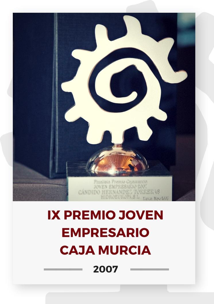 IX PREMIO JOVEN EMPRESARIO CAJA MURCIA 2
