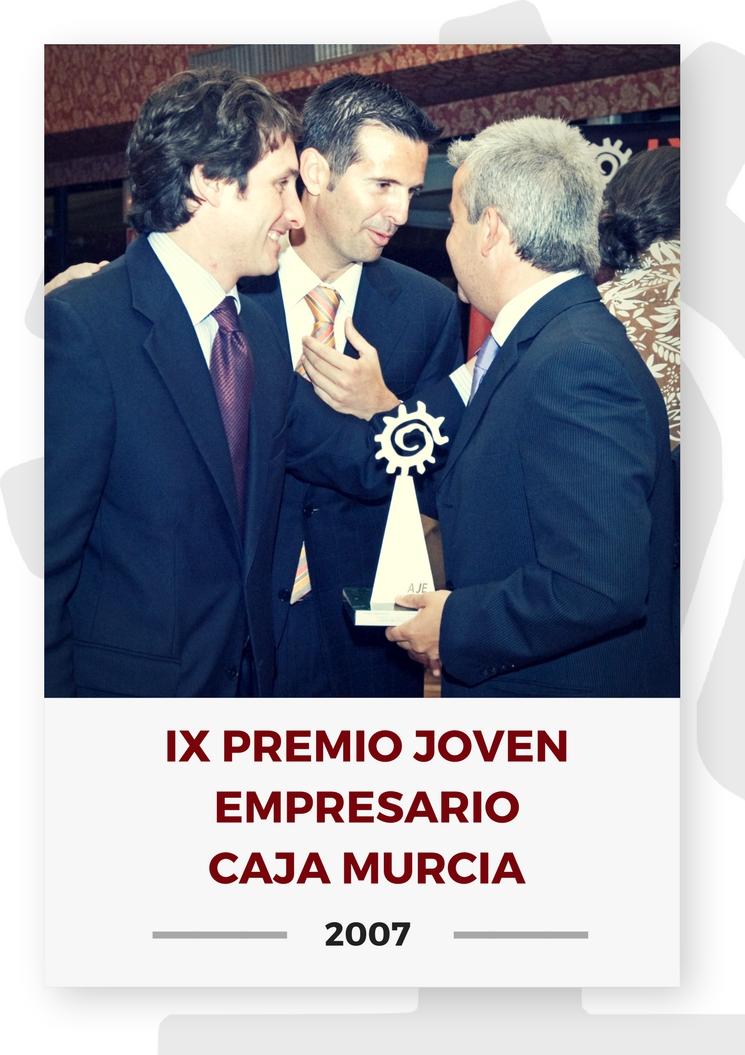 IX PREMIO JOVEN EMPRESARIO CAJA MURCIA 20