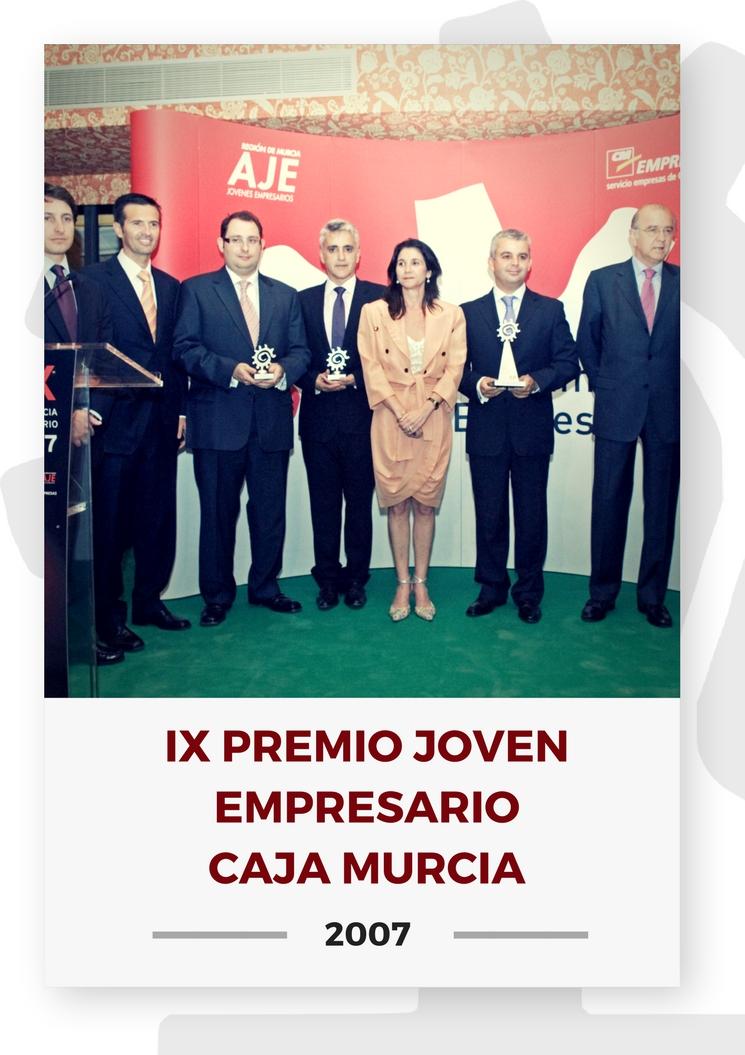 IX PREMIO JOVEN EMPRESARIO CAJA MURCIA 21