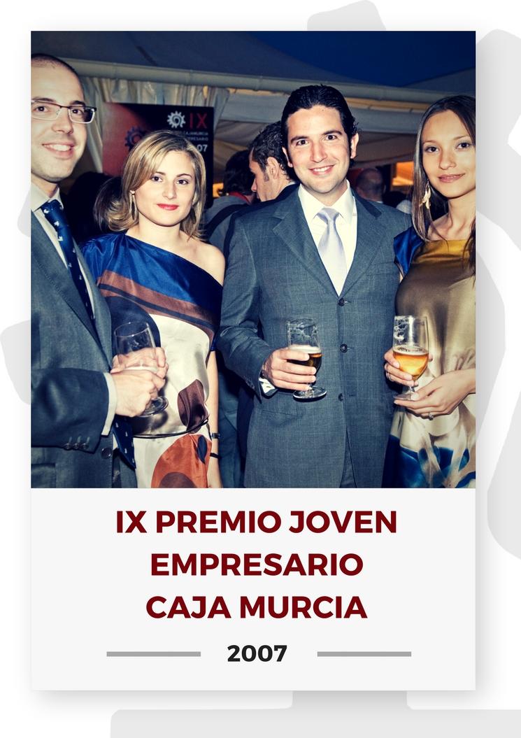 IX PREMIO JOVEN EMPRESARIO CAJA MURCIA 3