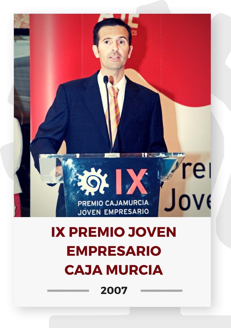 IX PREMIO JOVEN EMPRESARIO CAJA MURCIA