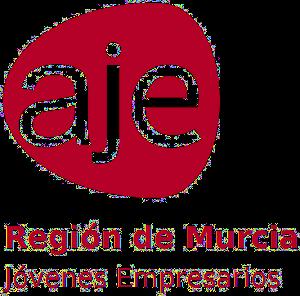 Logotipo oficial AJE Región de Murcia