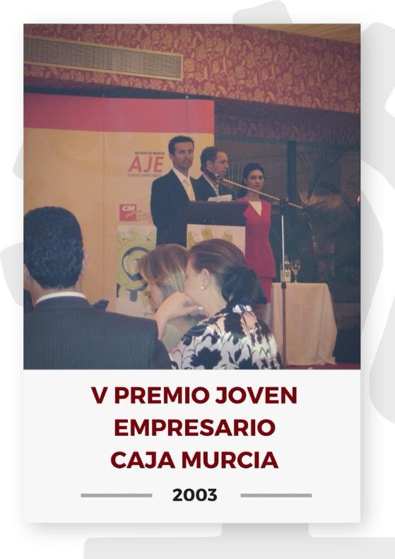 V PREMIO JOVEN EMPRESARIO CAJA MURCIA 2