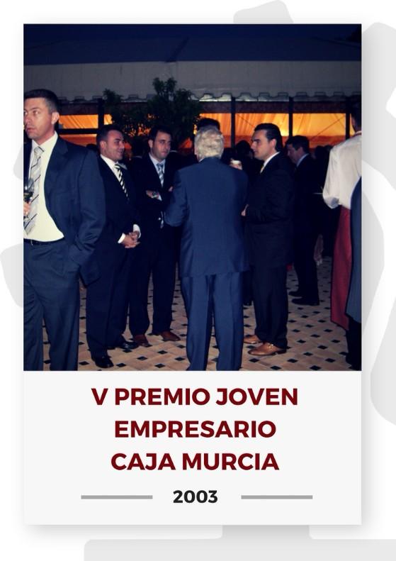 V PREMIO JOVEN EMPRESARIO CAJA MURCIA 3