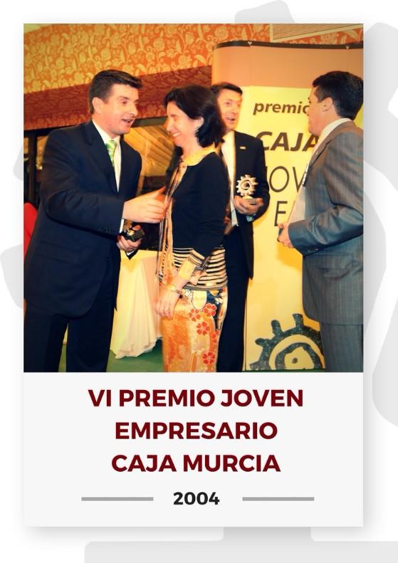 VI PREMIO JOVEN EMPRESARIO CAJA MURCIA 2