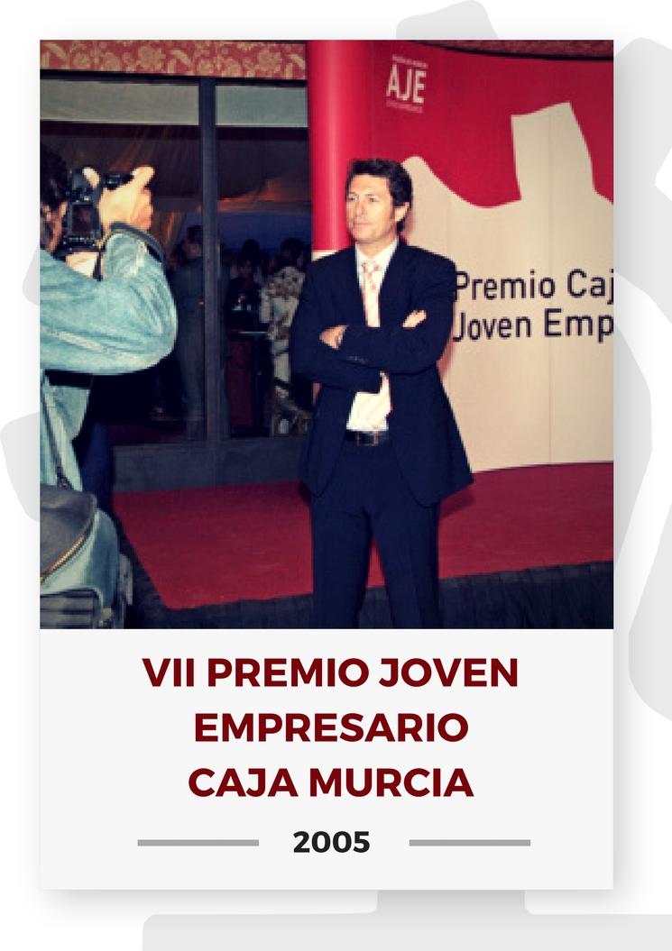 VII PREMIO JOVEN EMPRESARIO CAJA MURCIA 2