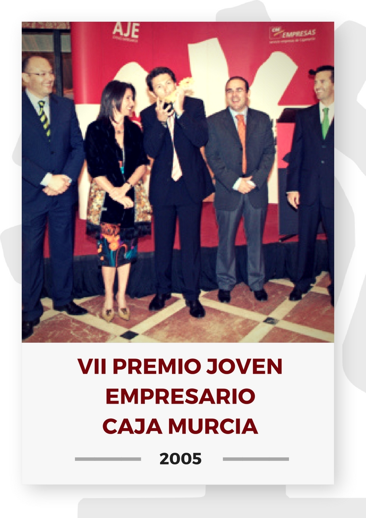 VII PREMIO JOVEN EMPRESARIO CAJA MURCIA