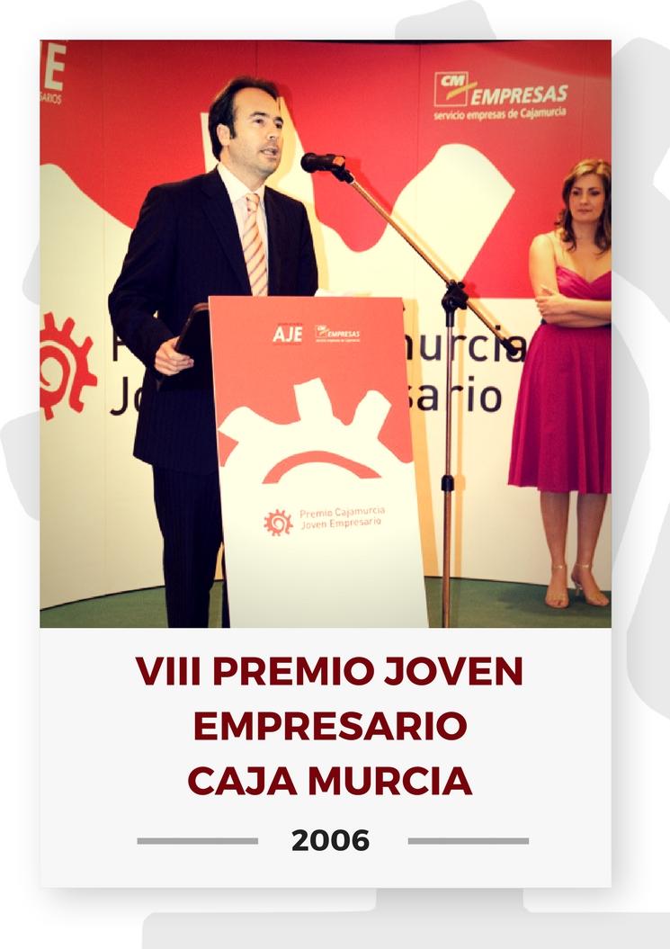 VIII PREMIO JOVEN EMPRESARIO CAJA MURCIA 10