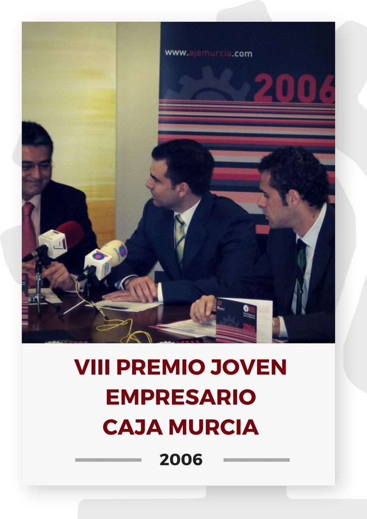 VIII PREMIO JOVEN EMPRESARIO CAJA MURCIA 16