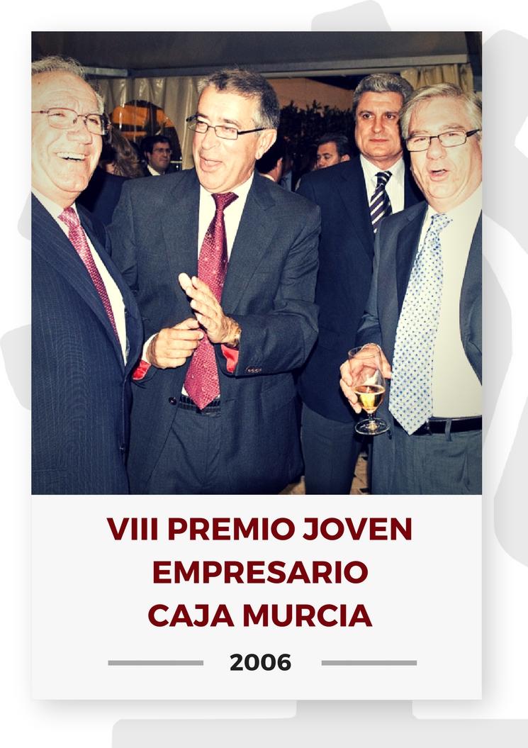 VIII PREMIO JOVEN EMPRESARIO CAJA MURCIA 2