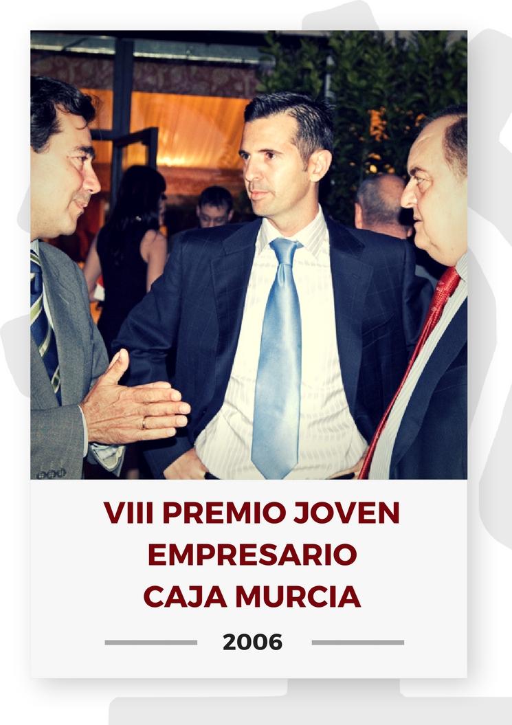 VIII PREMIO JOVEN EMPRESARIO CAJA MURCIA 3