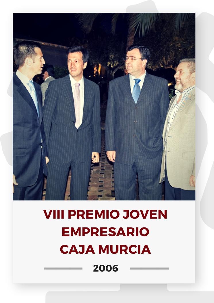 VIII PREMIO JOVEN EMPRESARIO CAJA MURCIA 4