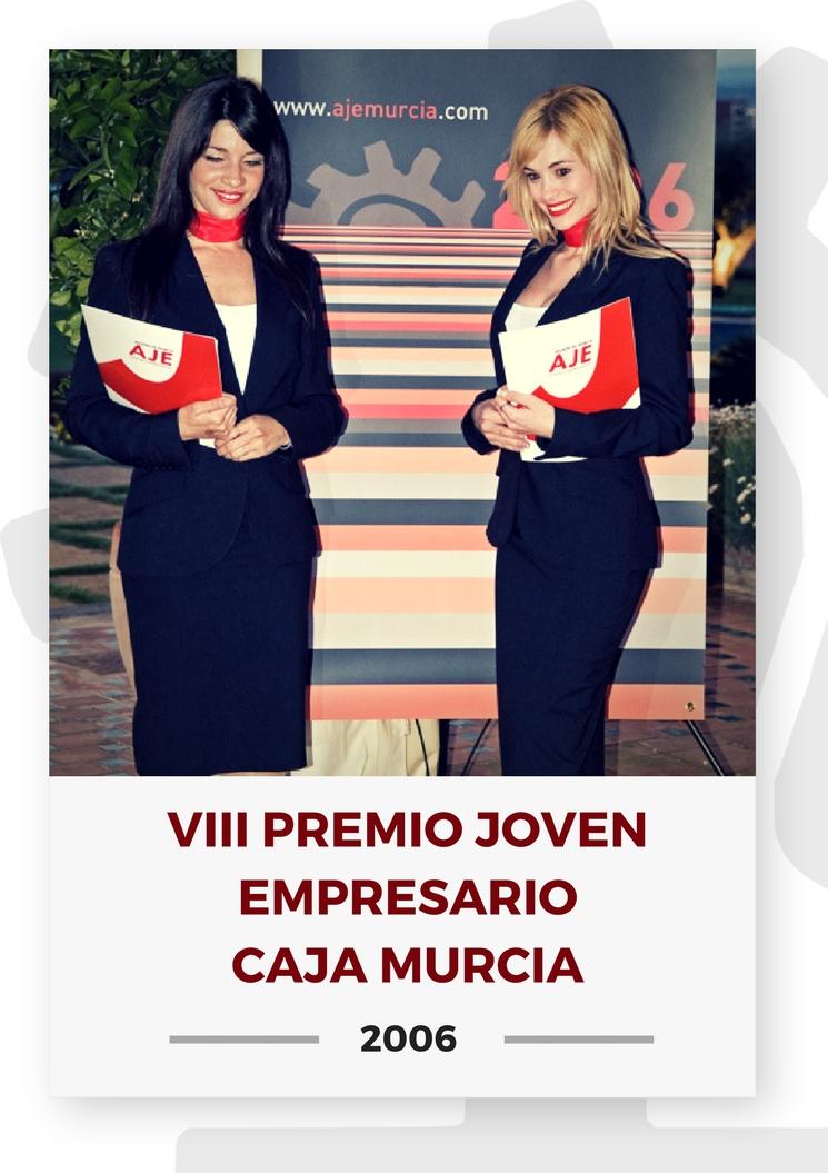 VIII PREMIO JOVEN EMPRESARIO CAJA MURCIA